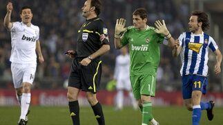 Las imágenes del Espanyol-Real Madrid