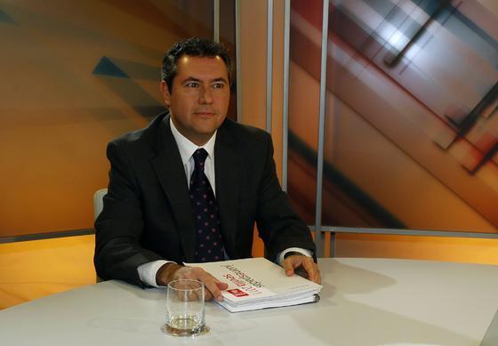 El candidato socialista a la Alcaldía de Sevilla, Juan Espadas.  Foto: Antonio Pizarro