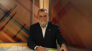 El candidato de IU al la Alcaldía de Sevilla, Antonio Rodrigo Torrijos.  Foto: Antonio Pizarro