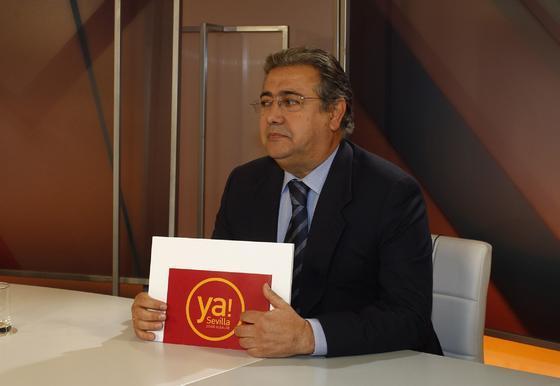 El candidato del PP a la Alcaldía de Sevilla, Juan Ignacio Zoido.  Foto: Antonio Pizarro
