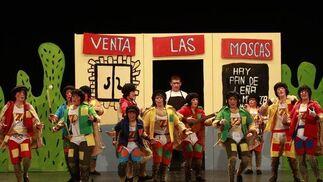Chirigota 'Los tío la vara'  Foto: Lourdes de Vicente / Jesus Marin