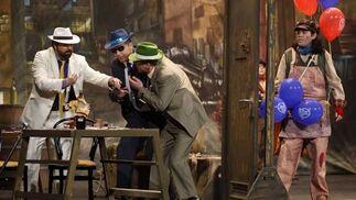 Cuarteto Los que cogieron al mono Amedio y lo quitaron de en medio  Foto: Jesus Marin