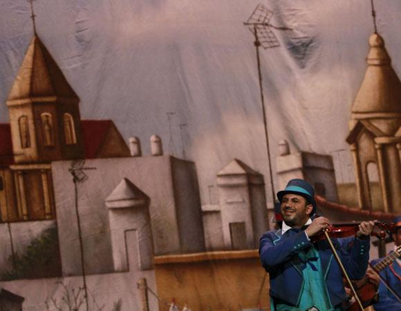 Comparsa Los violinistas  Foto: Lourdes de Vicente