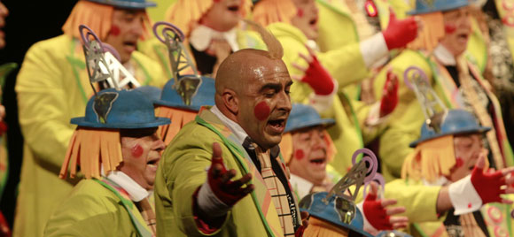 Coro La caja de los sueños  Foto: Lourdes de Vicente