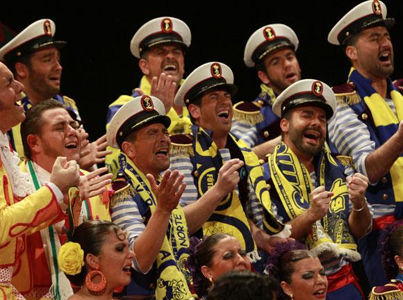 Coro El triángulo  Foto: Lourdes de Vicente