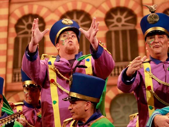 Coro La infantería  Foto: Lourdes de Vicente
