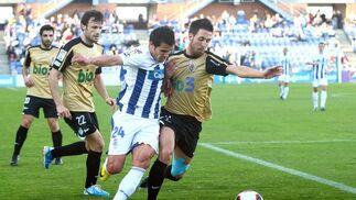 El Recreativo se atasca en casa ante la Ponferradina (1-1). / Alberto Rodríguez