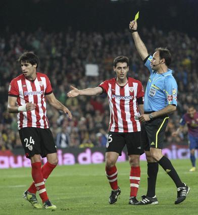 El Barcelona vence con claridad al Athletic de Bilbao en el Camp Nou (2-0). / EFE