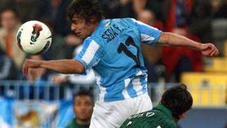El Betis vence al Málaga en La Rosaleda (0-2). / EFE