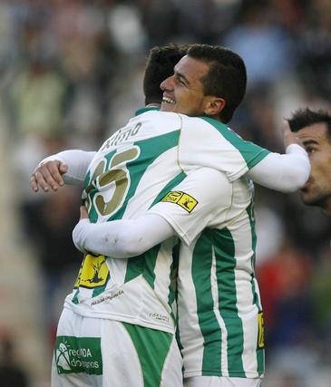 El Córdoba gana al Hércules en El Arcángel (3-1). / José Martínez