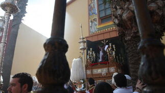 El sol acompañó al Cristo en el primer día de Semana Santa./Paco Guerrero