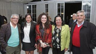 Rocío Arrabal, Inmaculada Nieto y Pilar Olivares, entre otros.   Foto: Erasmo Fenoy