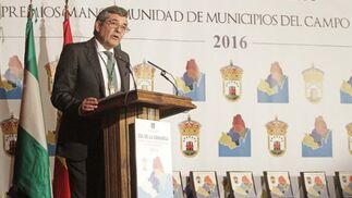 Luis Ángel Fernández, presidente de la Mancomunidad de Municipios.   Foto: Erasmo Fenoy
