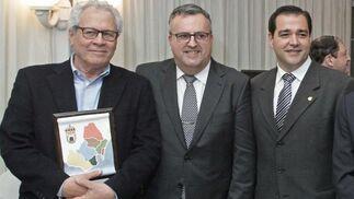 Rafel Palomino, Ángel Gavino y Salvador Puerto.   Foto: Erasmo Fenoy