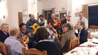 Fernando del Águila, Ángel Benítez, Carlos Rolin, Alexis García Iglesias y Adrián Seguro.  Foto: Ignacio Casas de Ciria