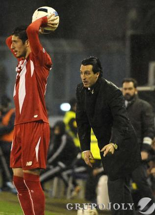 Las imágenes del Celta-Sevilla de Copa