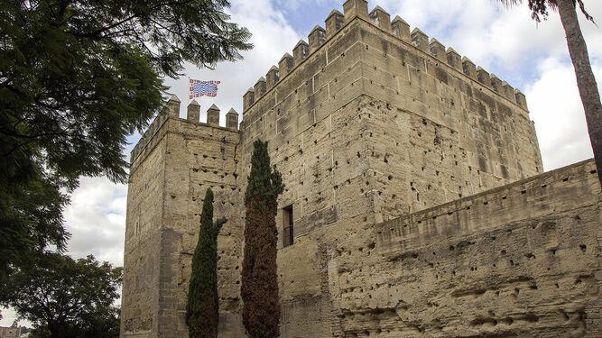 Alcázar. Acceso a la torre octógona