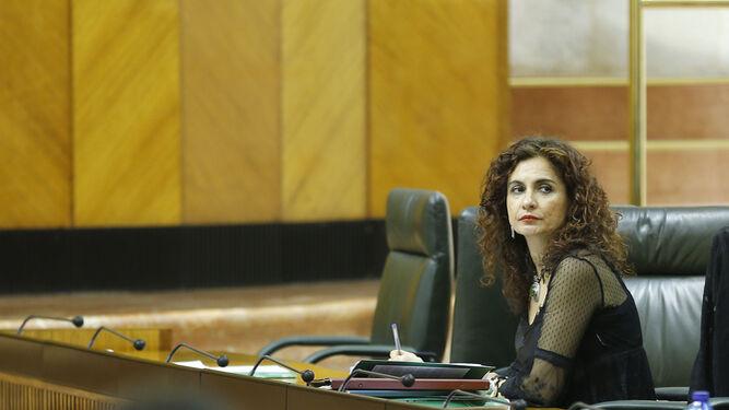 María Jesús Montero, consejera de Hacienda