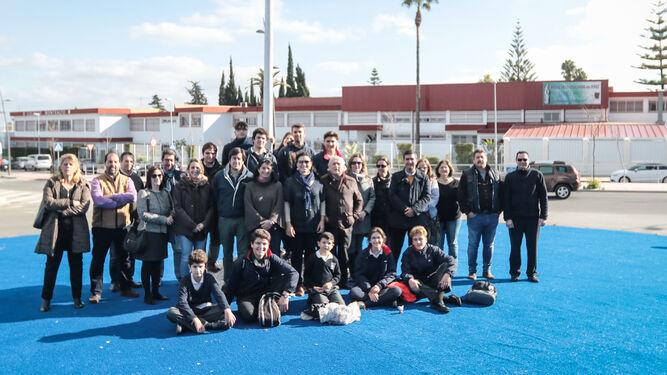 Miembros de la comunidad educativa de Montealto.