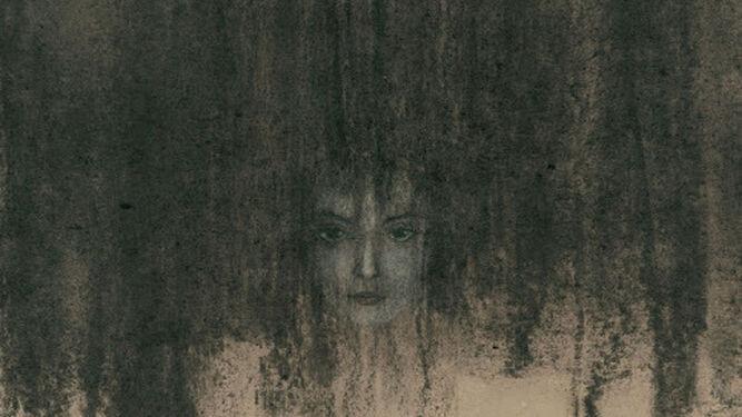 La ilustración que abre el relato 'Ligeia'.