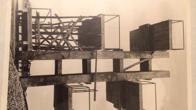 Imagen de archivo a vista de pájaro de las instalaciones del Club Nazaret cedidas por la otrora Caja de Ahorros de Jerez, ahora Fundación Cajasol.