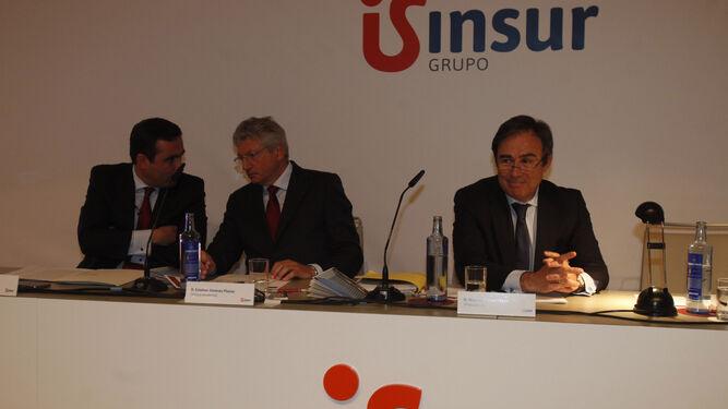 El presidente de Grupo Insur, Ricardo Pumar, durante su intervención.