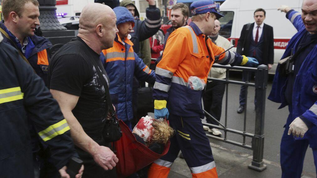 El atentado del metro de San Petersburgo, en imágenes