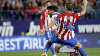 El Atlético de Madrid-Real Sociedad, en imágenes