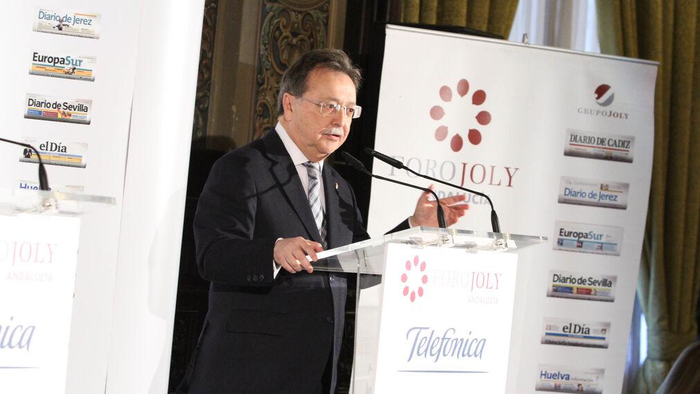 Juan Jesús Vivas, durante su intervención.