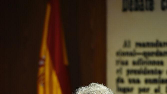 José Antonio Sánchez, ayer.