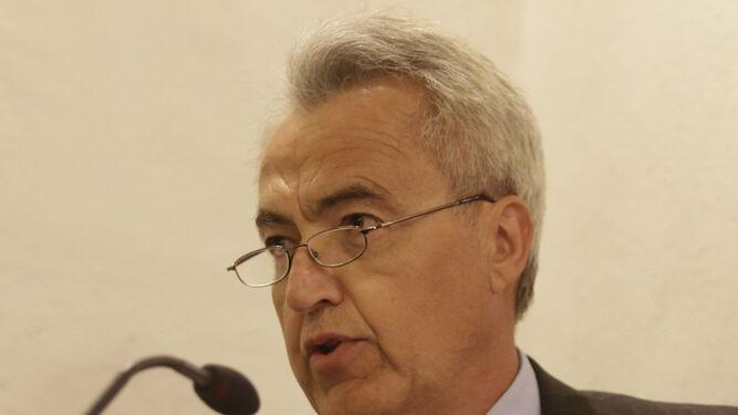 Pablo Gutiérrez-Alviz, en la presentación de su libro.