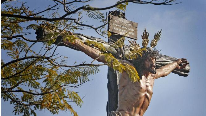El Santísimo Cristo de la Sed saldrá esta tarde a las calles de Jerez.