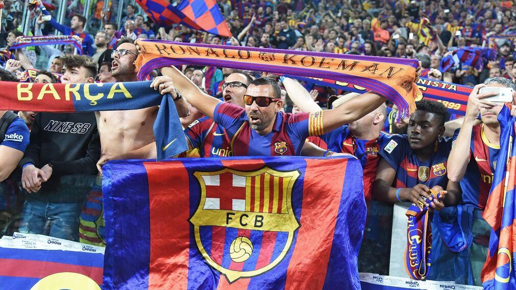 El Juventus-Barcelona, en imágenes