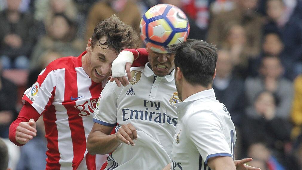 Las imágenes del Sporting-Real Madrid