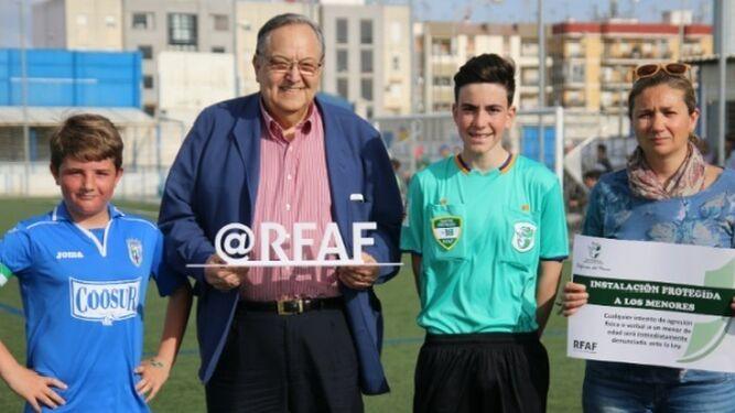 Eduardo Herrera, presidente de la FAF e impulsor de la nueva figura del defensor del menor.