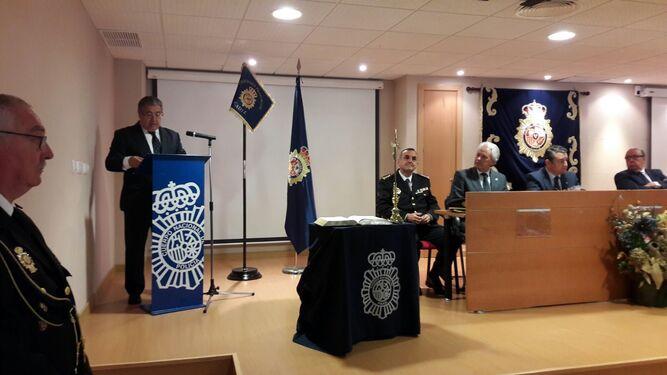 El ministro de Interior, Juan Ignacio Zoido, durante su intervención