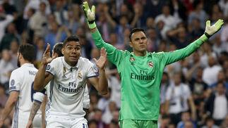Las imágenes del Real Madrid-Bayern Múnich