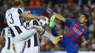 El Barcelona-Juventus, en imágenes