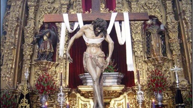 Descendimiento de la Hermandad de la Soledad de Jerez.