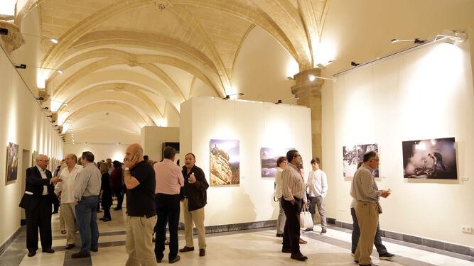 Público durante la inauguración de las jornadas y la exposición, el pasado martes.