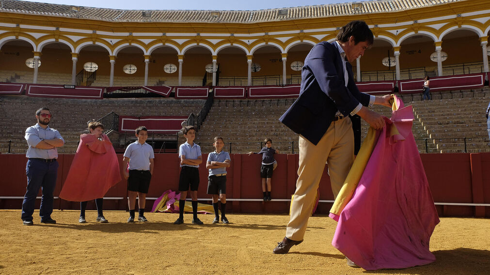 El taller de toreo en la Maestranza, en imágenes