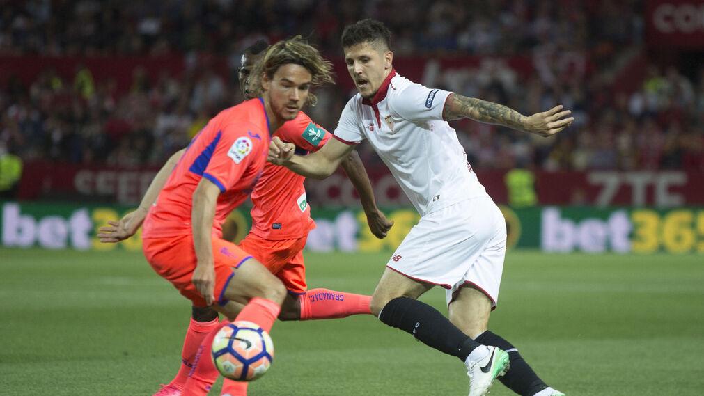 El SevillaFC-Granada, en imágenes