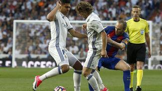 Las imágenes del Real Madrid-Barcelona