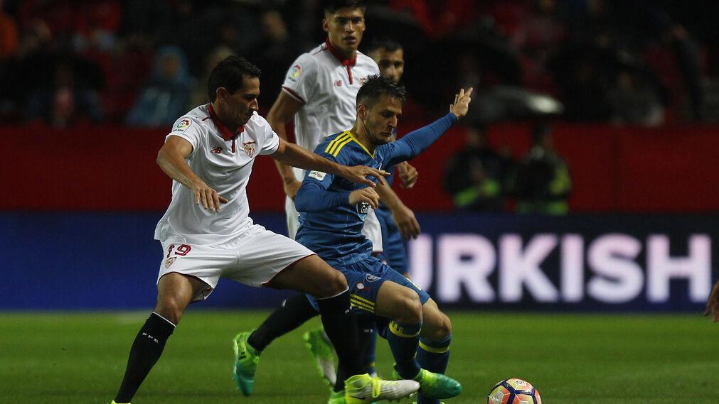 El Sevilla FC-Celta de Vigo, en imágenes