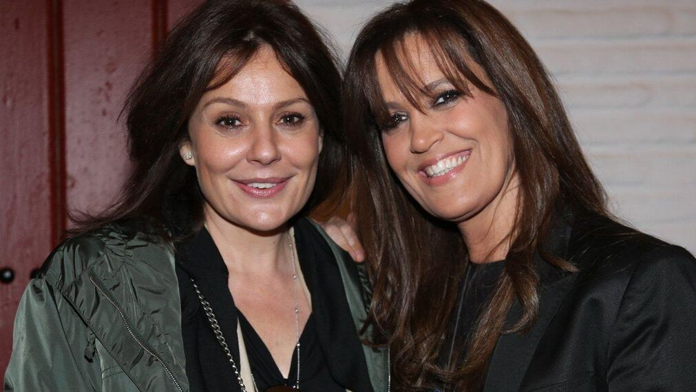 Nuria González y su hermana Yolanda.