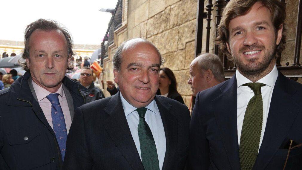 Fernando Murube, Luis Miguel Martín Rubio y Rosauro Varo.