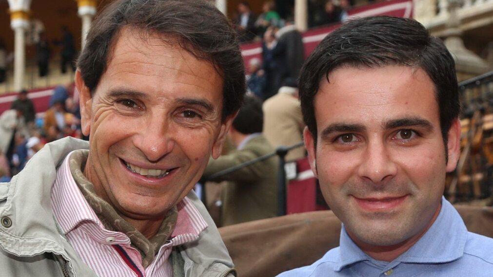 Ignacio de la Olla y el ayuda de Ponce, Rubén Arija.
