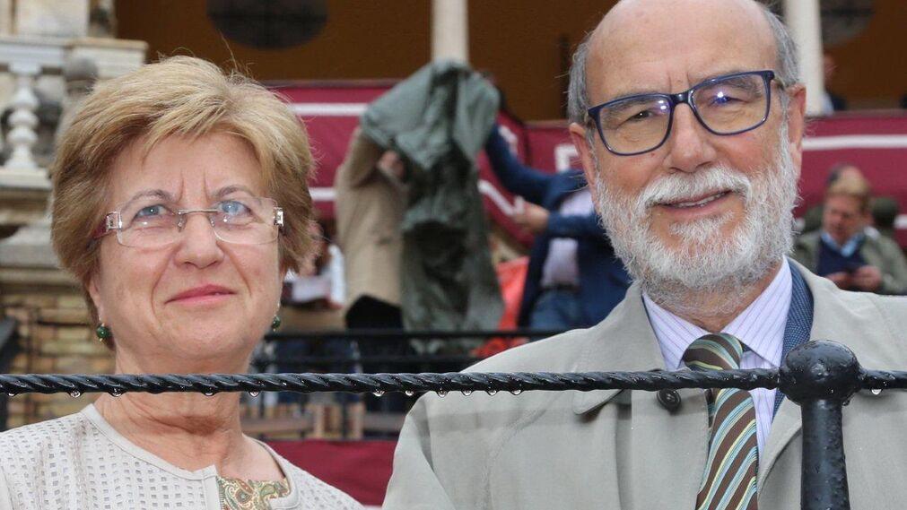 Bernardo Bueno y Lourdes Garnica.