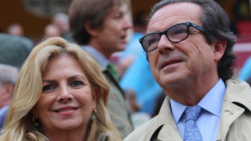 La ganadera Silvia Camacho con Juan Antonio Gómez Angulo.