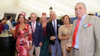 Manuel Villegas, Carmen Trespalacios, Nicolás Lucero, Concha Ribelles, José Ferradáns (Taberna del Anteojo) y Ana Fuentes.